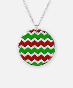Christmas Chevrons Necklace