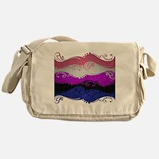 Gender Fluid Ornamental Flag Messenger Bag