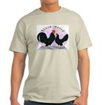 Black Dutch Chickens Light T-Shirt