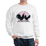 Black Dutch Chickens Sweatshirt