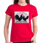 Black Dutch Chickens Women's Dark T-Shirt