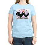 Black Dutch Chickens Women's Light T-Shirt