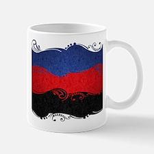 Polyamorous Ornamental Flag Mugs