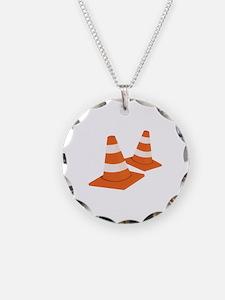 Safety Cones Necklace