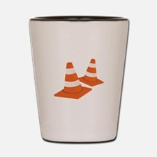 Safety Cones Shot Glass