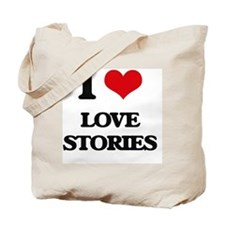 I Love Love Stories Tote Bag