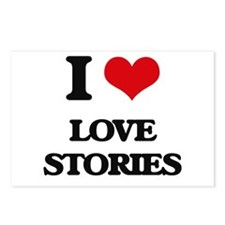 I Love Love Stories Postcards (Package of 8)