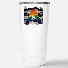 LGBT Ally Ornamental Flag Travel Mug