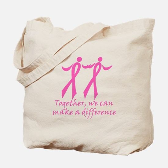 Make a Difference Together Tote Bag