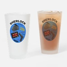 Sherlock Holmes Drinking Glass