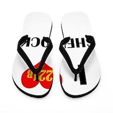 I Heart Sherlock 221B Flip Flops