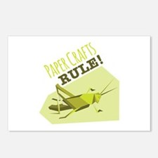 Paper Crafts Rule Postcards (Package of 8)