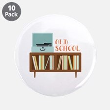 """Old School 3.5"""" Button (10 pack)"""
