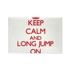 Keep calm and The Long Jump ON Magnets