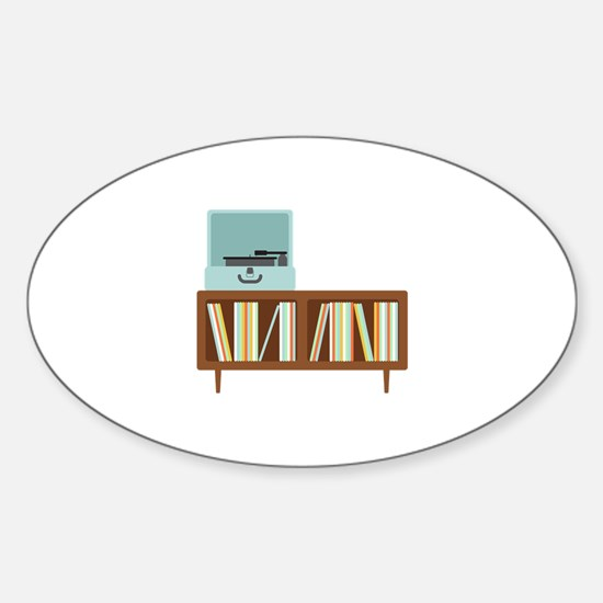 Phonograph Cabinet Decal