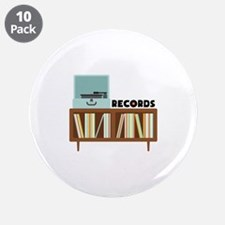 """Records 3.5"""" Button (10 pack)"""