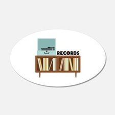 Records Wall Decal