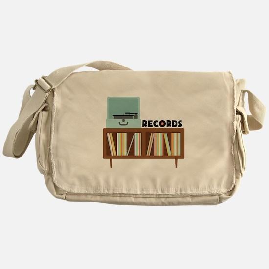 Records Messenger Bag
