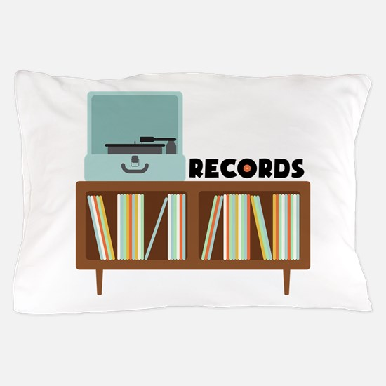 Records Pillow Case