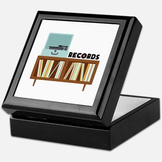 Records Keepsake Box