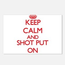Keep calm and The Shot Pu Postcards (Package of 8)