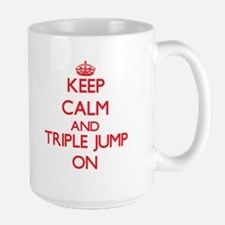 Keep calm and The Triple Jump ON Mugs