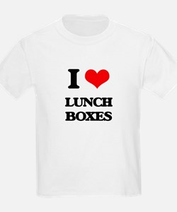 I Love Lunch Boxes T-Shirt