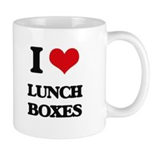 I Love Lunch Boxes Mugs