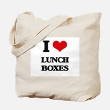 I Love Lunch Boxes Tote Bag