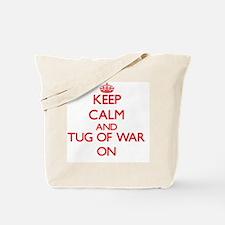 Keep calm and Tug Of War ON Tote Bag