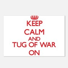 Keep calm and Tug Of War Postcards (Package of 8)