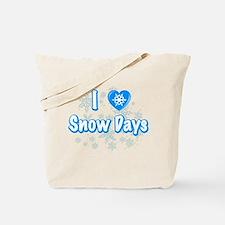 I Love Snow Days Tote Bag