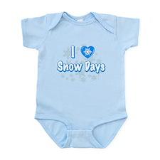 I Love Snow Days Body Suit
