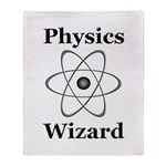 Physics Wizard Throw Blanket