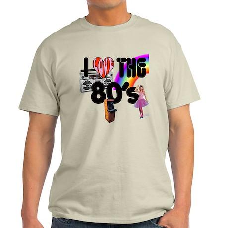 I Love The 80's Light T-Shirt