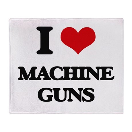 machine gun blanket