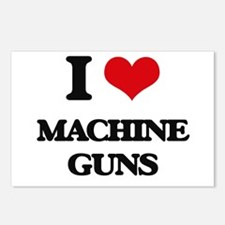 I Love Machine Guns Postcards (Package of 8)