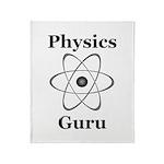 Physics Guru Throw Blanket