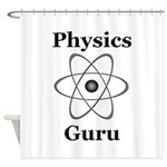 Physics Guru Shower Curtain