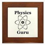 Physics Guru Framed Tile