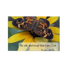 Bible Verses Psalm 46:10 Magnets