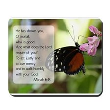 Bible Verse Micah 6:8 Mousepad
