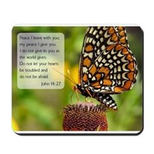 Bible VerseJohn 14:27 Mousepad