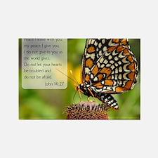 Bible VerseJohn 14:27 Magnets