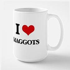 I Love Maggots Mugs