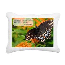 Bible Verse Psalm 119:10 Rectangular Canvas Pillow