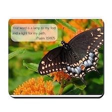 Bible Verse Psalm 119:105 Mousepad