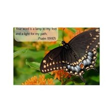 Bible Verse Psalm 119:105 Magnets
