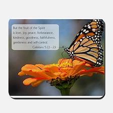 Bible Verse Galatians 5:22 - 23 Mousepad