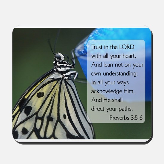 Bible Verse {rpverns 3:5-6 Mousepad